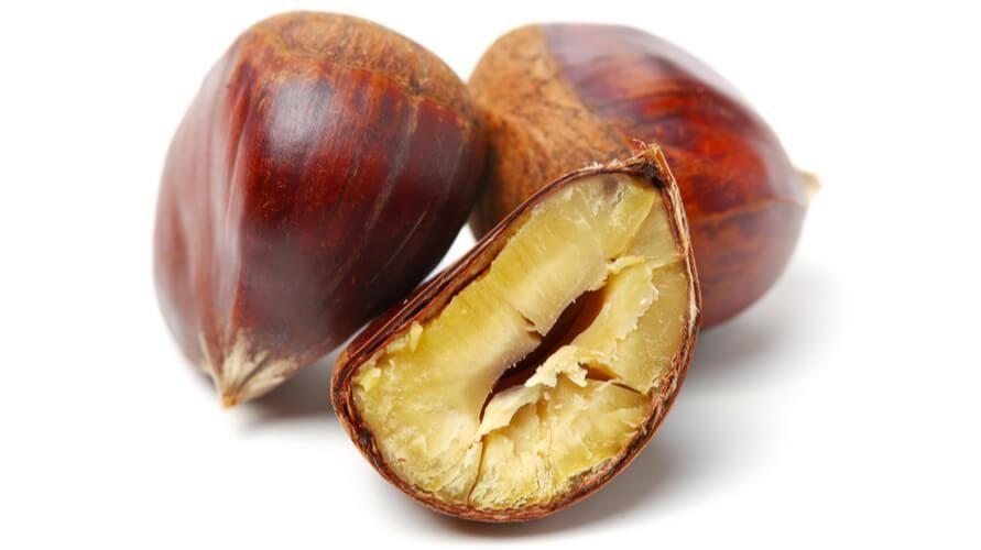 Chestnut atau Kacang Kastanye, Sibak Nutrisi dan Manfaatnya